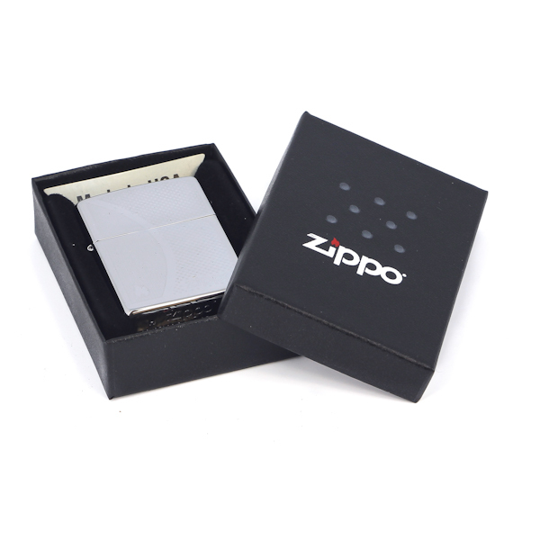 Фото 3 - Зажигалка ZIPPO Shadow Gradiant High Polish Chrome, латунь,ник.-хром.покр.,серебр.,глянц.,36х56х12мм