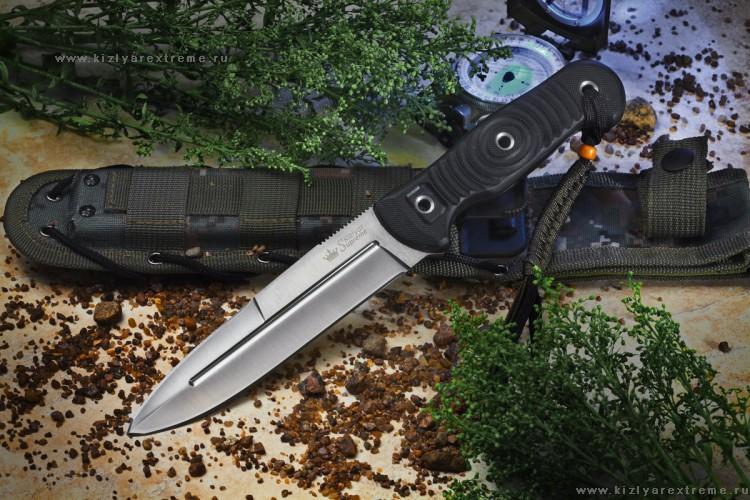 Фото 4 - Нож Legion D2 Satin+SW, Кизляр от Kizlyar Supreme