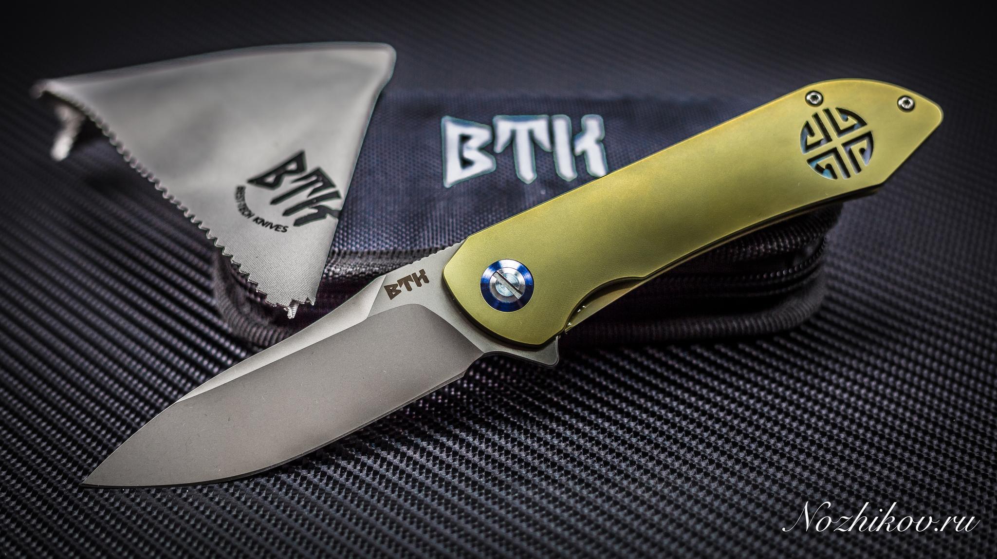Фото 2 - Складной нож Bestech Knives BT1703B, сталь CPM-S35VN, рукоять титан