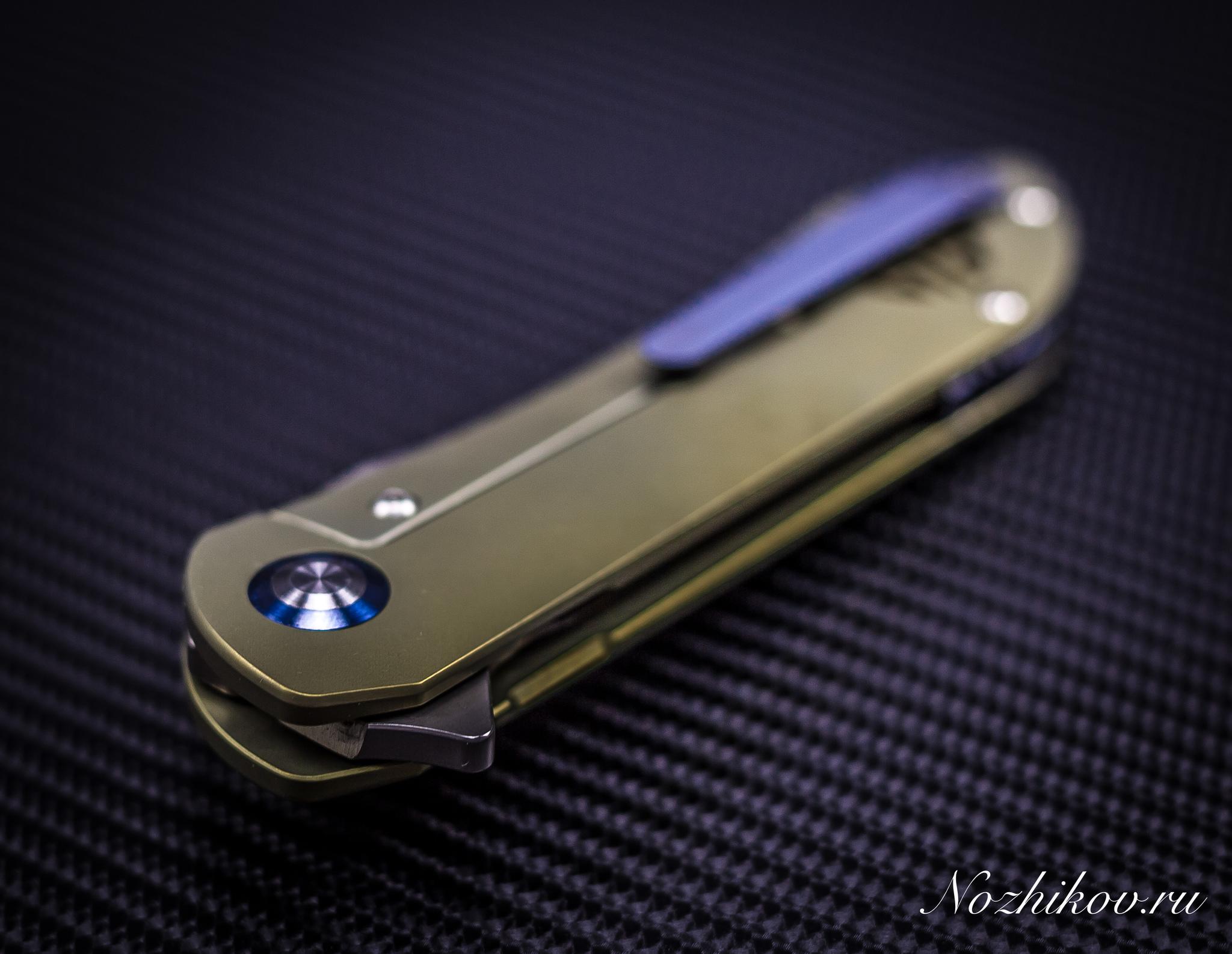 Фото 4 - Складной нож Bestech Knives BT1703B, сталь CPM-S35VN, рукоять титан