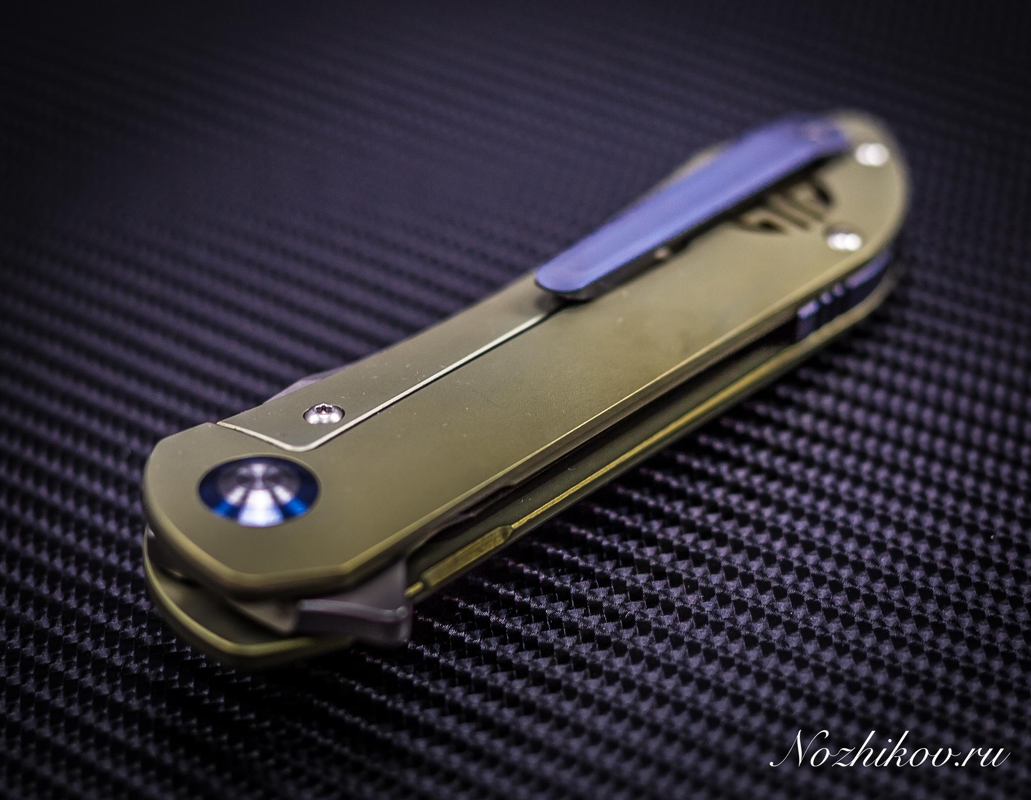 Фото 8 - Складной нож Bestech Knives BT1703B, сталь CPM-S35VN, рукоять титан