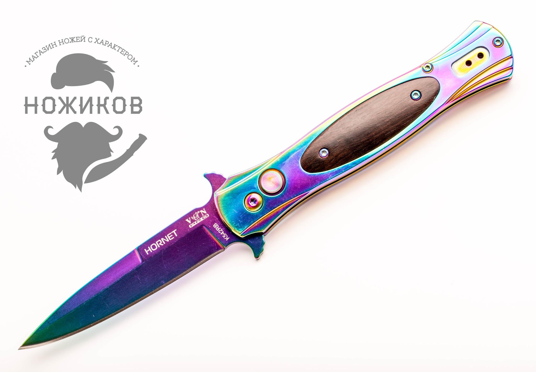 Фото 5 - Нож автоматический Hornet, градиент от VN Pro
