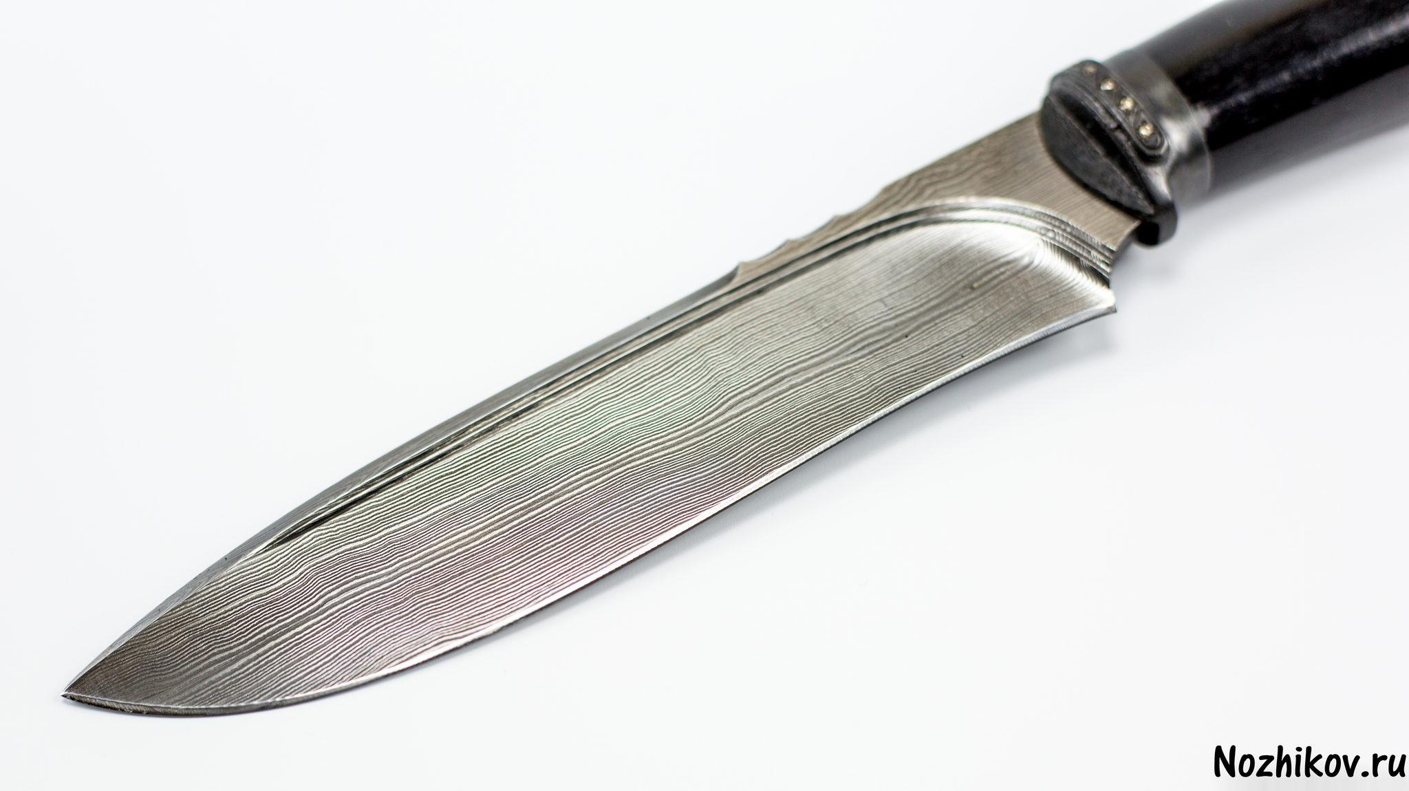 """Авторский Нож из Дамаска №28, Кизляр от Магазин ножей """"Ножиков"""""""