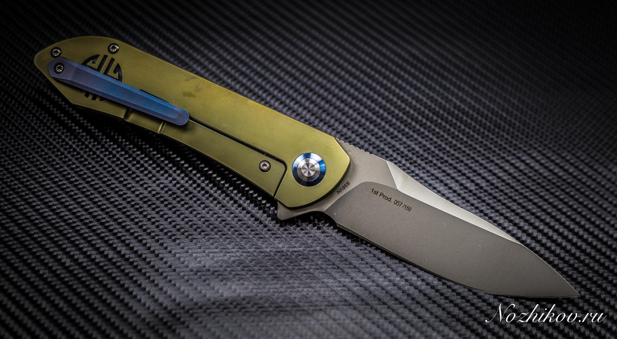 Фото 6 - Складной нож Bestech Knives BT1703B, сталь CPM-S35VN, рукоять титан