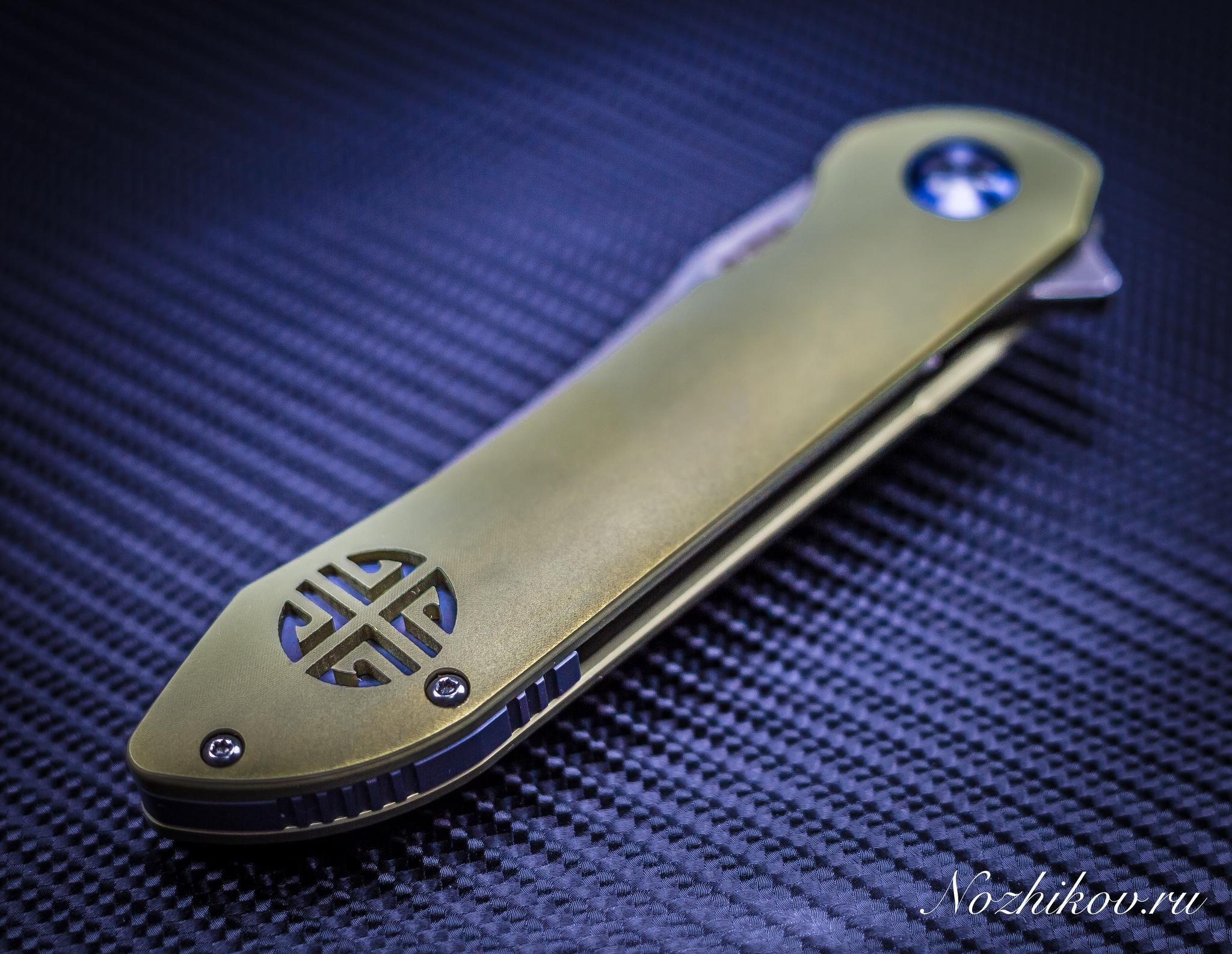 Фото 9 - Складной нож Bestech Knives BT1703B, сталь CPM-S35VN, рукоять титан