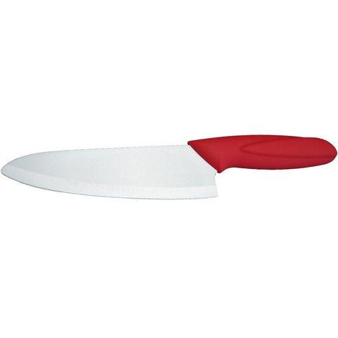 Нож керамический кухонный универсальный SAME CHEF 6.3, красный - Nozhikov.ru