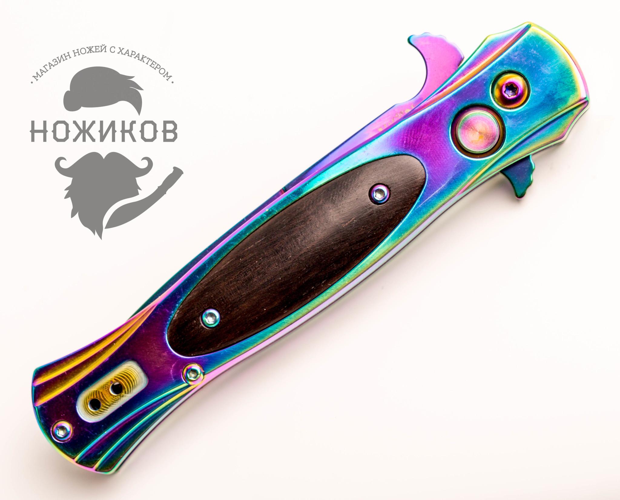 Фото 7 - Нож автоматический Hornet, градиент от VN Pro
