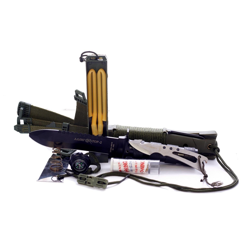 Нож для выживания Аллигатор-2 НК5696