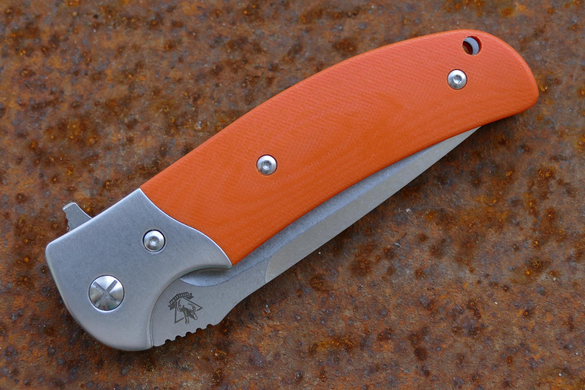 Складной нож Резервист, красный