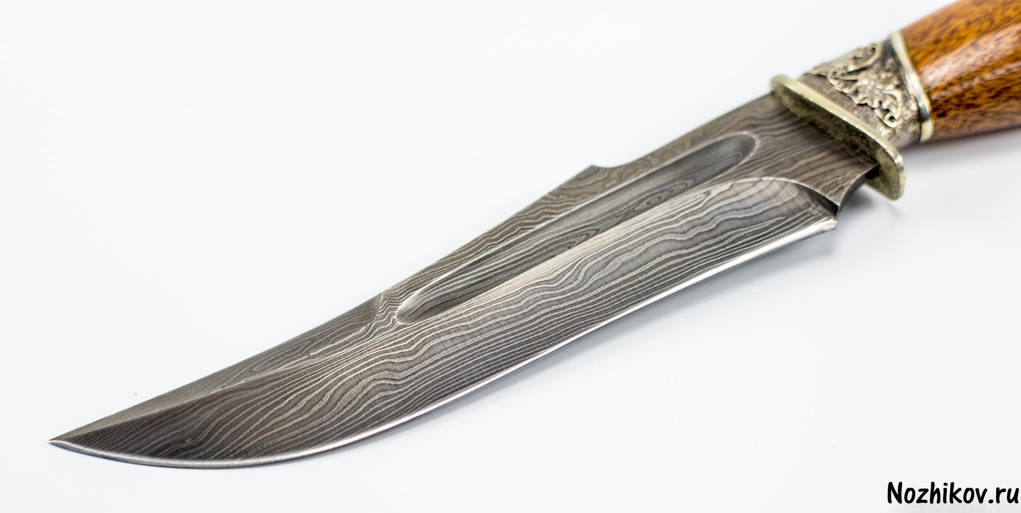 Фото 3 - Авторский Нож из Дамаска №14, Кизляр от Noname