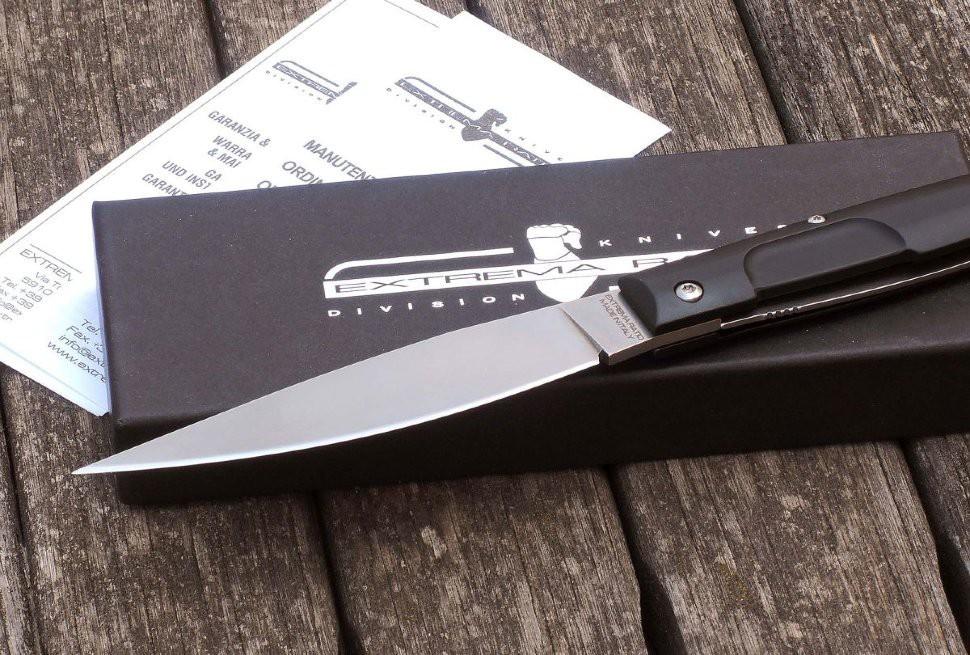 Фото 3 - Складной нож Extrema Ratio Resolza Large Stone Washed, сталь Bhler N690, рукоять алюминий