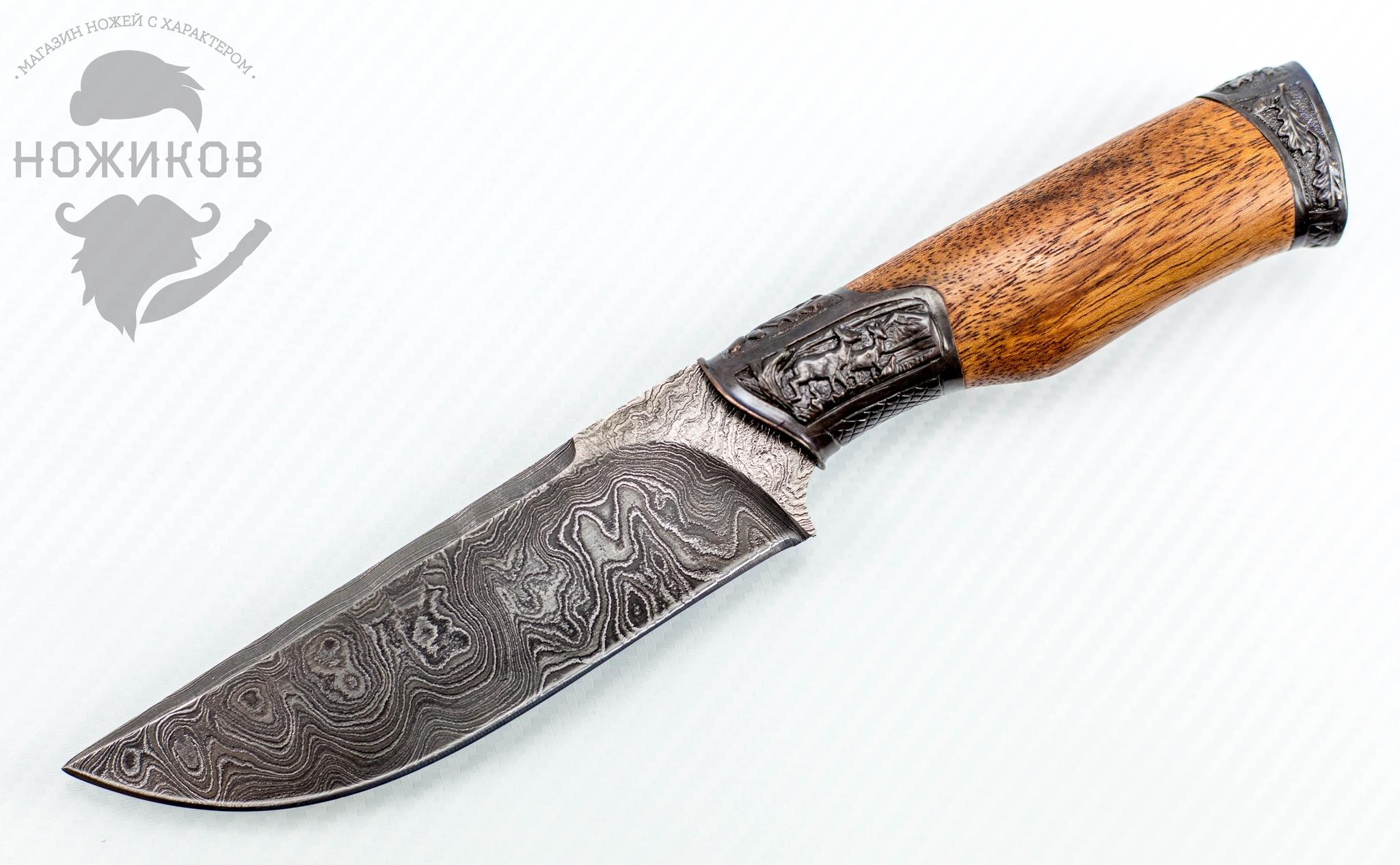 Фото - Авторский Нож из Дамаска №61, Кизляр от Noname