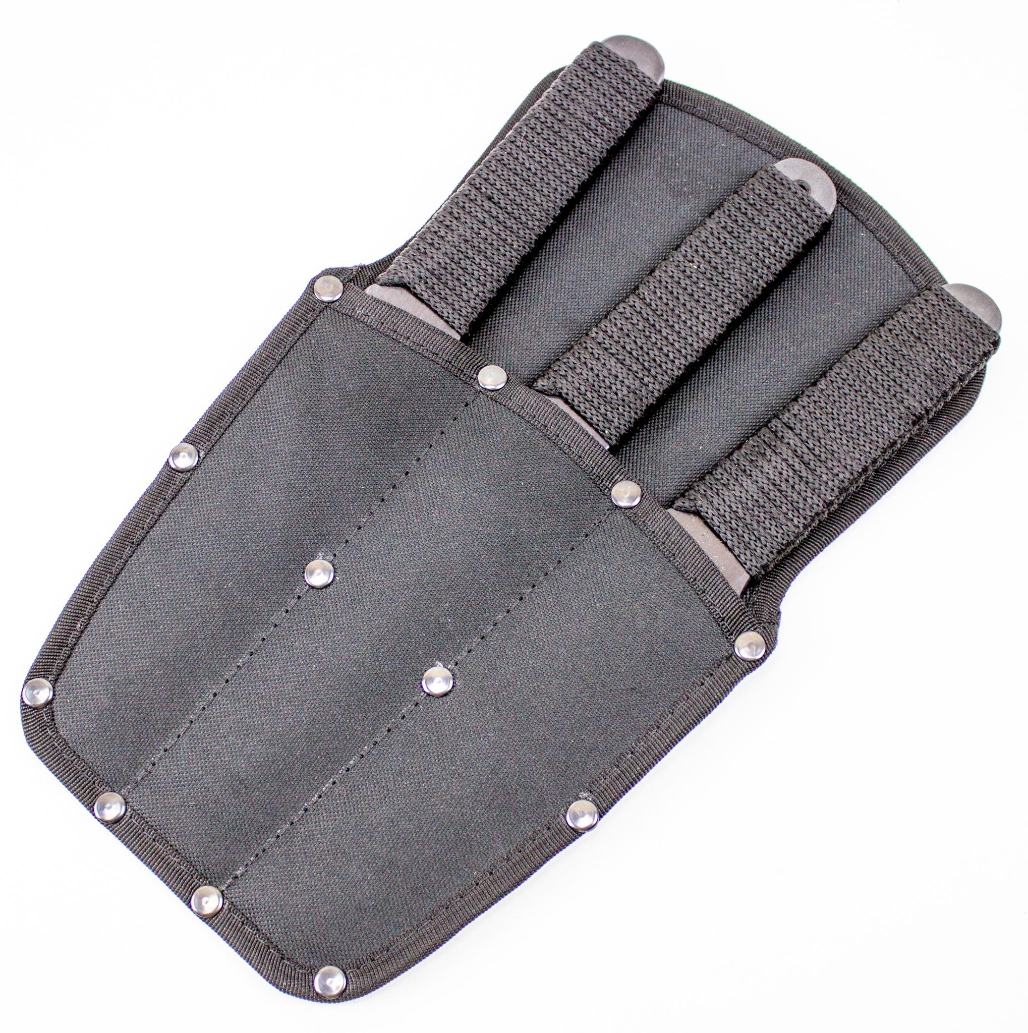 Набор ножей Миг-1, комплект 3 шт, сталь 65ГНожи Ворсма<br>Набор метательных ножей Миг-1, комплект 3 шт, сталь 65Г<br>