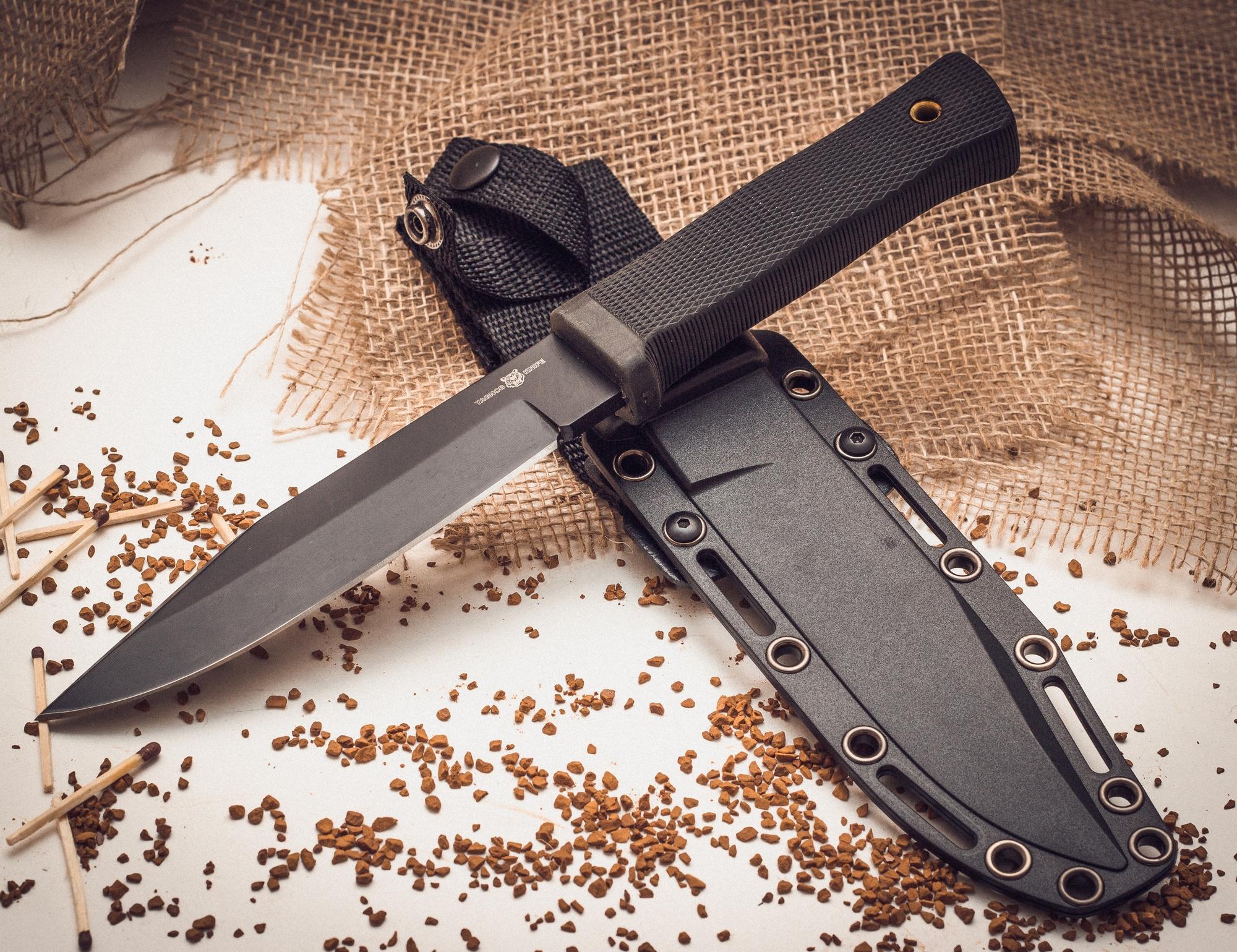 Тактический нож Yagnob, напоясныйТактические ножи<br>Нож тактический Yagnob YG272 клон Cold Steel SRK (38CK)<br>
