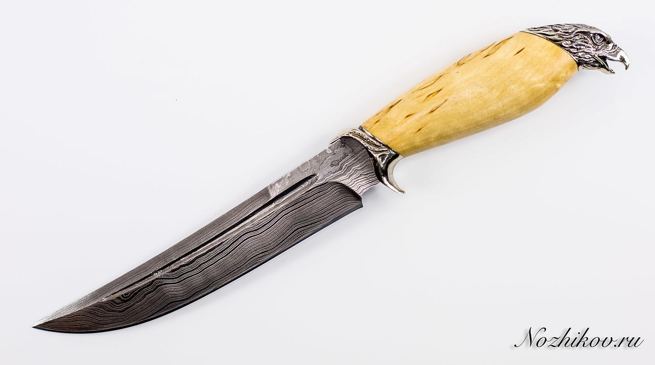 Авторский Нож из Дамаска №44, КизлярНожи Кизляр<br><br>