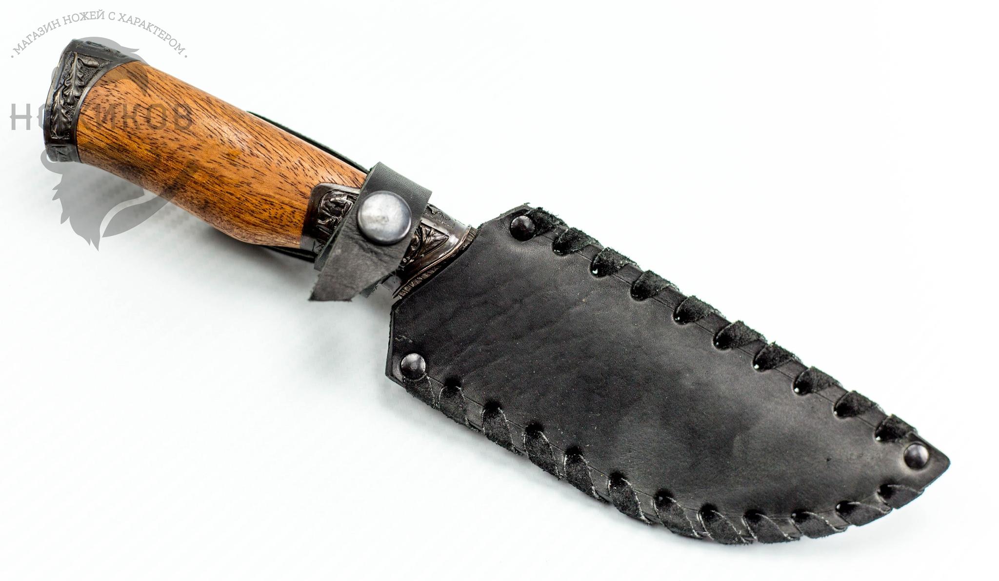 Фото 5 - Авторский Нож из Дамаска №61, Кизляр