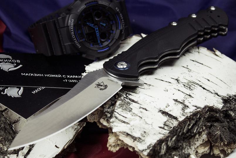 Фото 2 - Складной нож Шакс, черный от Steelclaw
