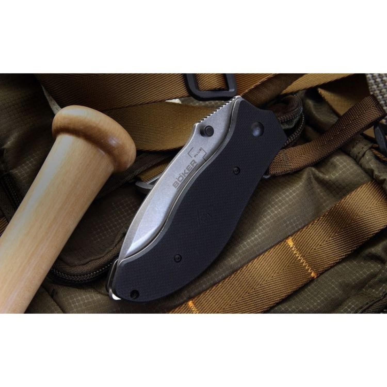 Фото 3 - Складной нож Gen 2 Resurrection - Boker Plus 01BO412, лезвие сталь 440C Stonewash, рукоять стеклотекстолит G-10