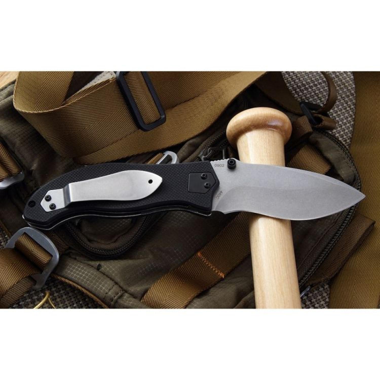 Фото 4 - Складной нож Gen 2 Resurrection - Boker Plus 01BO412, лезвие сталь 440C Stonewash, рукоять стеклотекстолит G-10