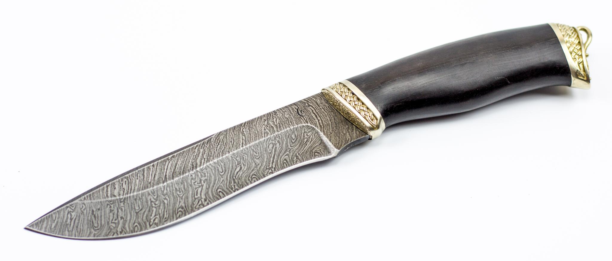 Фото 2 - Нож из дамасской стали