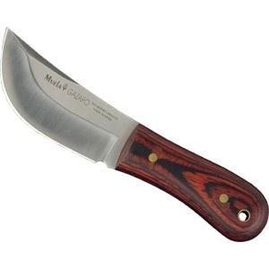 Нож шкуросъемный Кролик-2 с чехлом 8.0 см.Охотнику<br>Нож Кролик шкуросъемный, рукоять древесный пластик, кожаный чехол.<br>