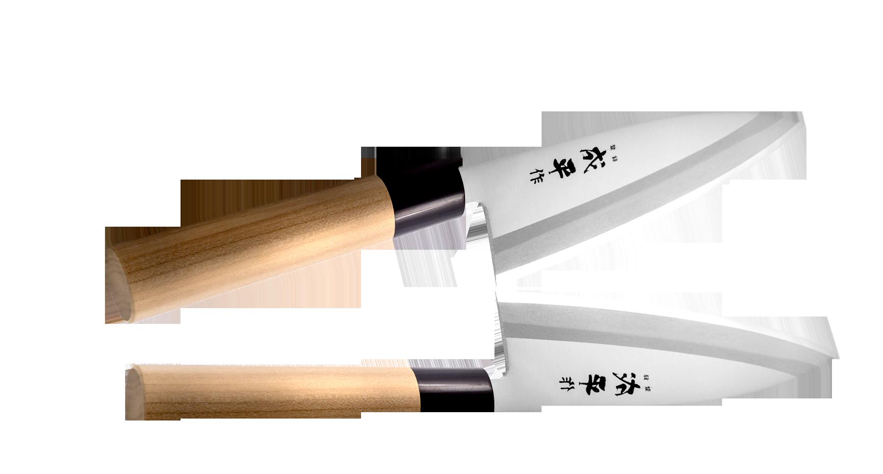 Фото - Нож Деба Narihira Tojiro, 150 мм, сталь AUS-8, рукоять дерево