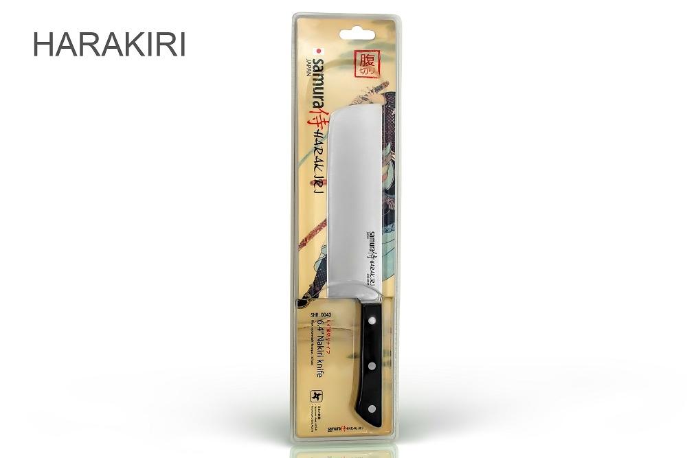 Фото 2 - Нож кухонный овощной накири Samura