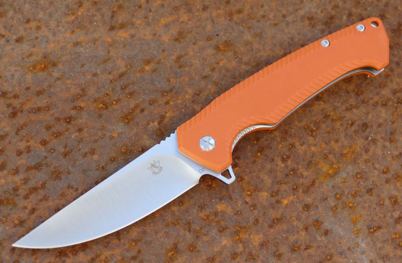 Фото 2 - Складной нож Резус-4, сталь D2 от Steelclaw