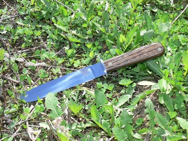 Нож Окопник-2 95Х18, венге