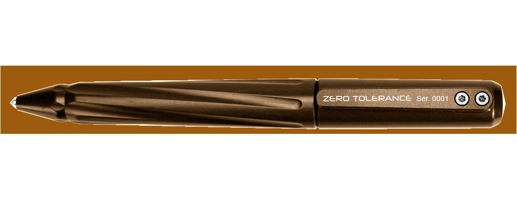 Тактическая ручка Zero Tolerance 0010EBАмериканские ножи Zero Tolerance<br>Тактическая ручка 0010EB<br>