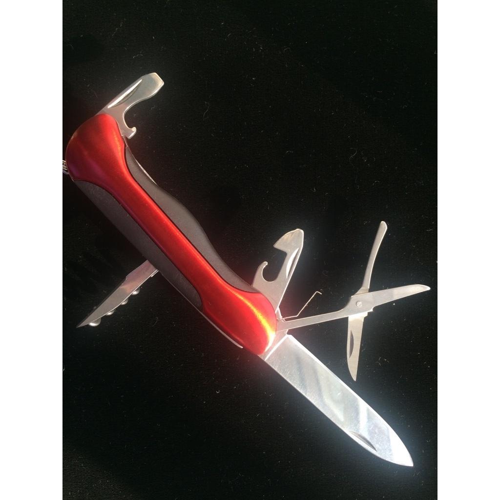 Нож складной универсальный, красный