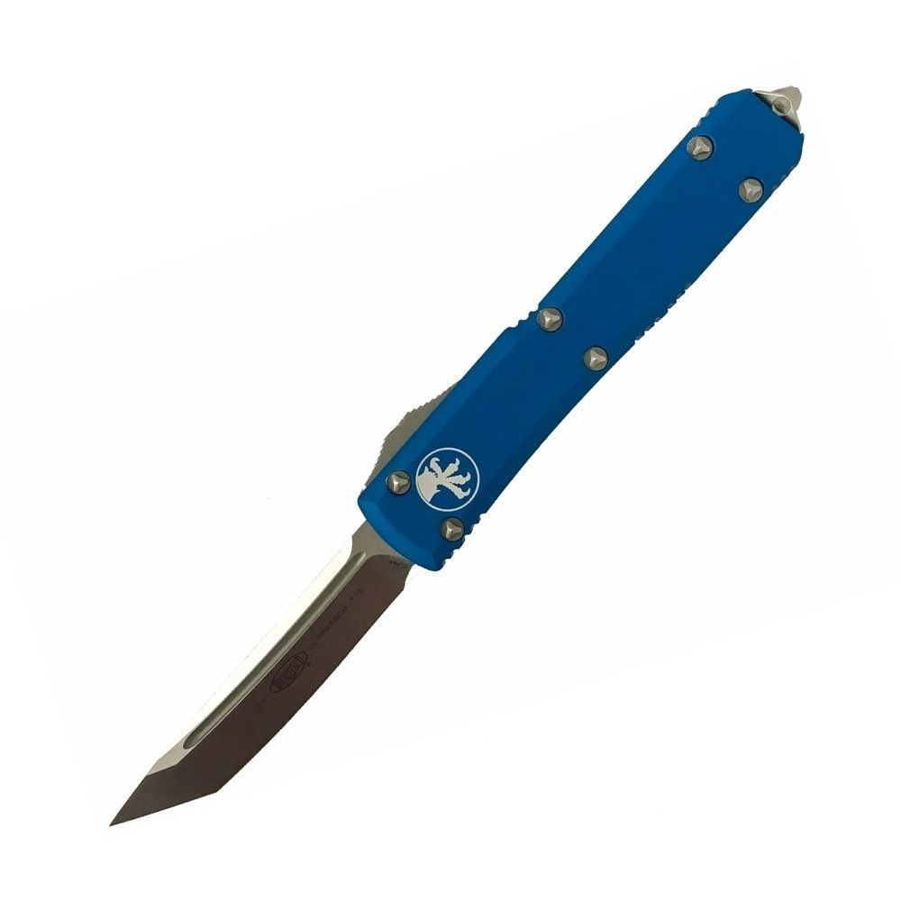 Автоматический фронтальный нож Microtech Ultratech Contoured Chassis Blue Tanto hotpointariston hb 0603 dr0
