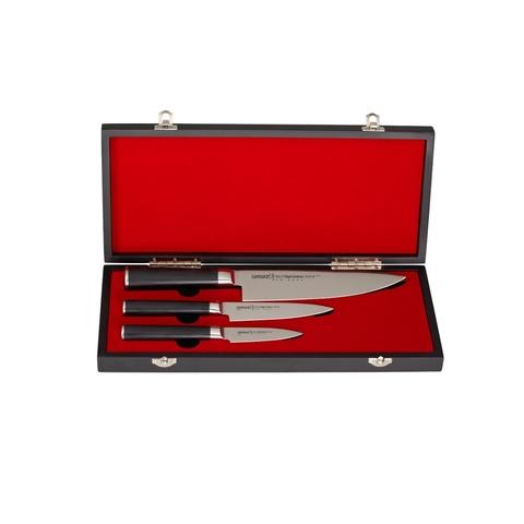 Набор из 3 ножей Samura Mo-Vв подарочной коробке - Nozhikov.ru