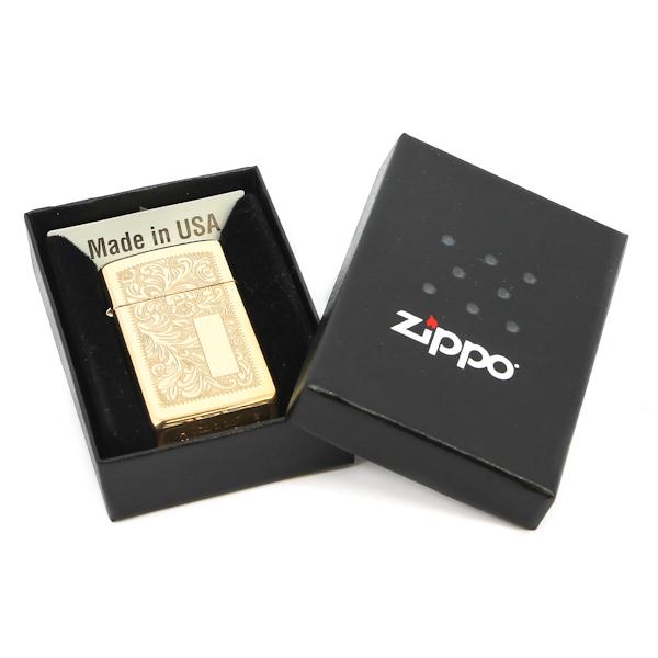Фото 3 - Зажигалка ZIPPO High Polish Brass, латунь, золотистый, глянцевая, 30х55х10 мм