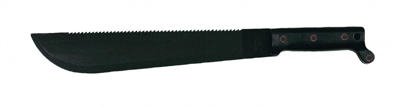 Мачете CT2 Traditional Sawback CutlassOntario Knife Company<br>Мачете CT2 Traditional Sawback Cutlass, лезвие-фосфатное чёрное покрытие, зубцы на обухе, сталь 1095 карбон, рукоятка из ударопрочного полимера.<br>