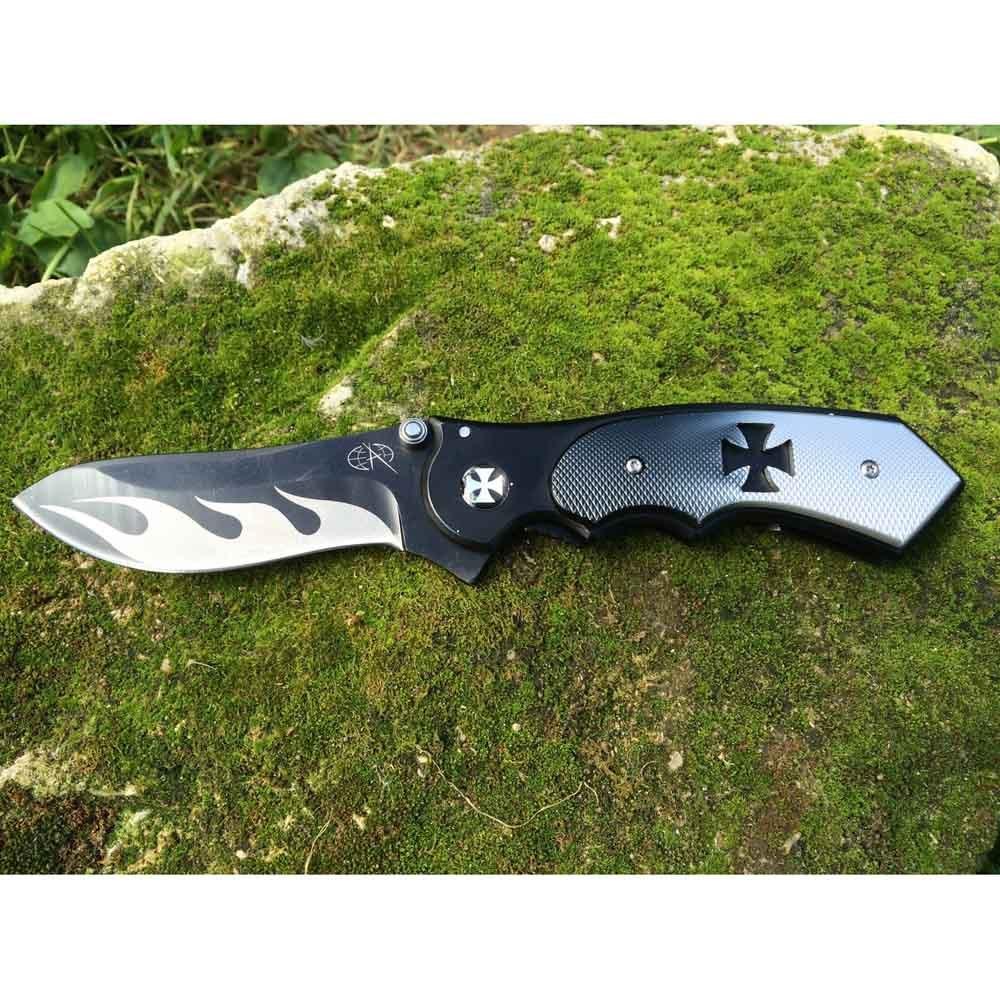 Нож складной T122Раскладные ножи<br>Нож разборный, на винтах типа TORX®. Покрытие клинка - оксидирование. Шпенёк с двух сторон.Для удобства ношения имеется клипса.<br>Длина клинка: 80 ммТолщина лезвия: 2,8 ммОбщая длина: 200 ммМатериал рукояти: металлСталь: 440<br>Накладки рукояти: алюминий. Максимальная толщина рукояти 14 мм. Максимальная ширина рукояти 29 мм. Тип замка: Liner-Lock.<br>