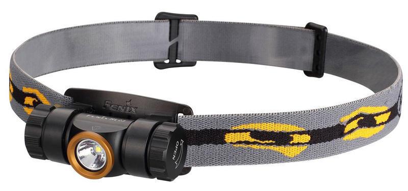 Налобный фонарь Fenix HL23 Cree XP-G2 R5, золотистый nitecore mt20c tactical flashlight cree xp g2 r5 max 460 lumen beam distance 180 meters outdoor torch h battery charger
