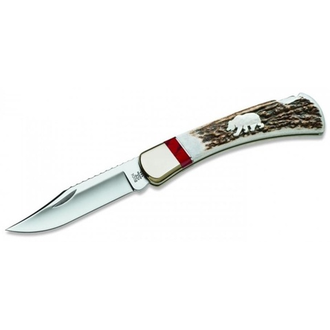 Нож складной Grizzly Bear Folding Hunter 0110EKSLE4 - Nozhikov.ru