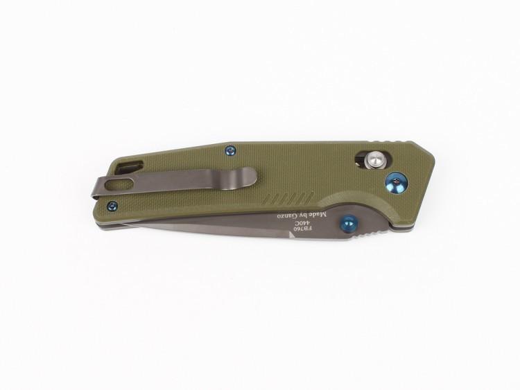 Фото 3 - Складной Нож Firebird (by Ganzo) FB7603-GR, зеленый