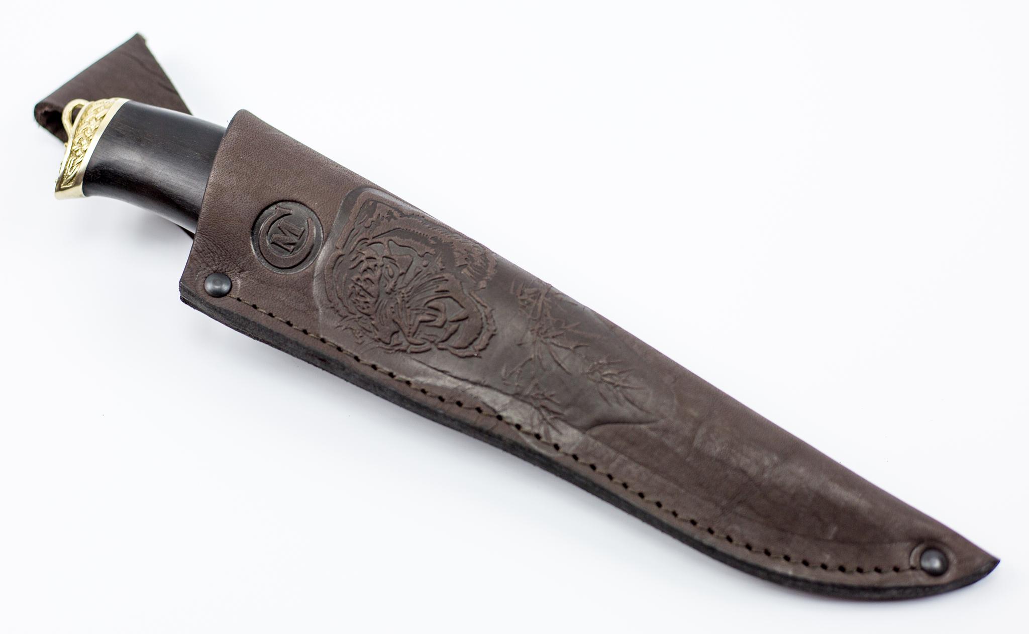 Фото 6 - Нож из дамасской стали