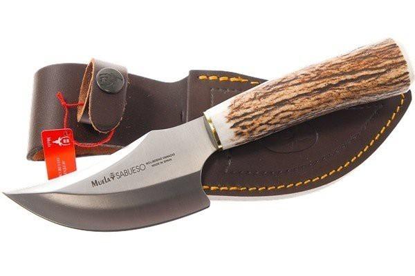 Нож с фиксированным клинком Sabueso, Stag Handle 11.0 см.Охотнику<br>Нож с фиксированным клинком Sabueso, Stag Handle 11.0 см.<br>