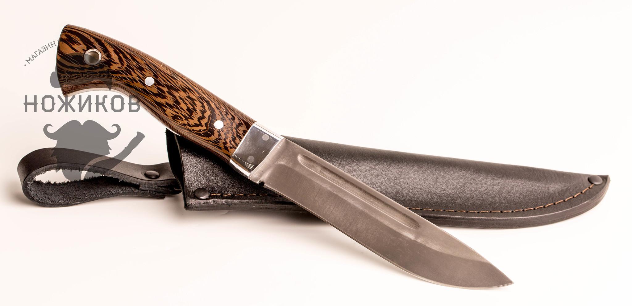 Фото 7 - Нож МТ-7, цельнометаллический Х12МФ, венге, Ворсма