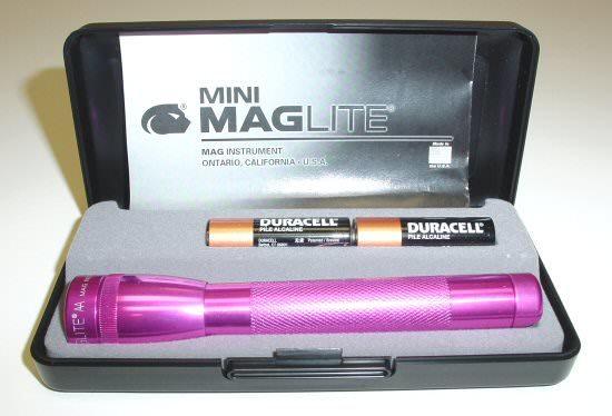 Фонарь светодиодный Mag-Lite Mini Mag (2xAA) M2AKYLU фонарь mag lite mini 14 6 см черный в пластиковой коробке