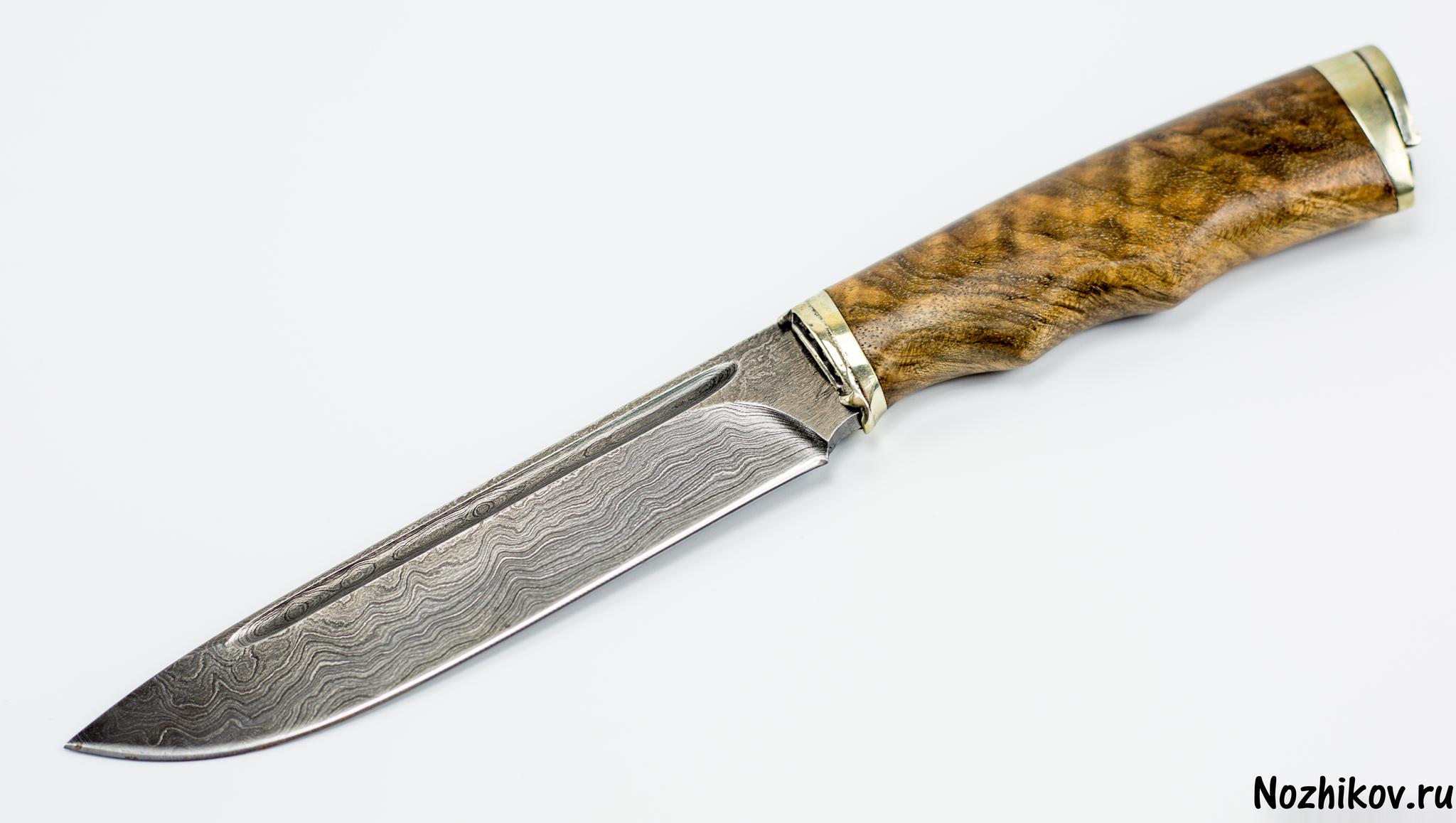 Авторский Нож из Дамаска №32, КизлярНожи Кизляр<br><br>