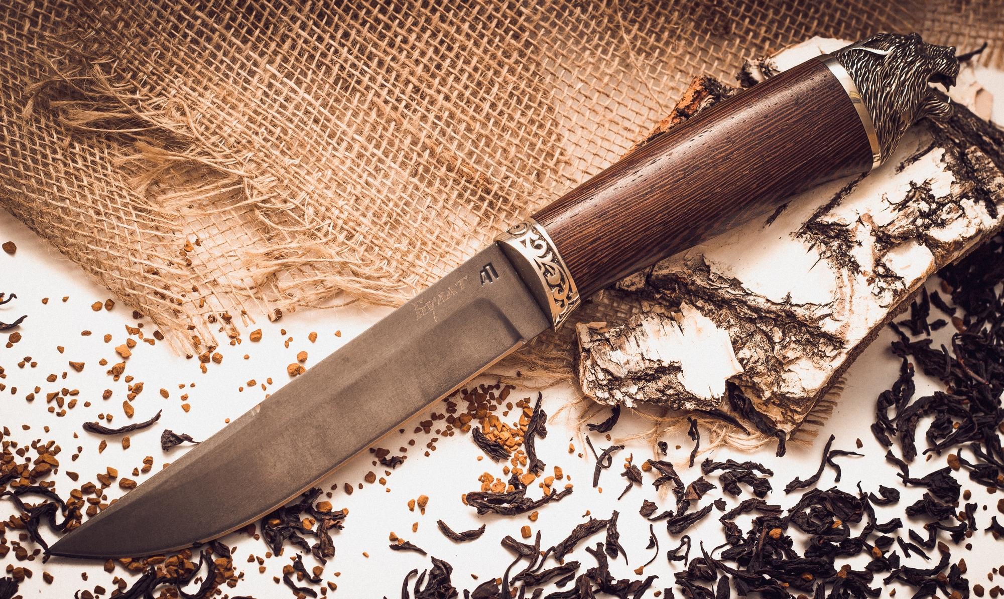 Булатный нож 3Ножи Ворсма<br><br>