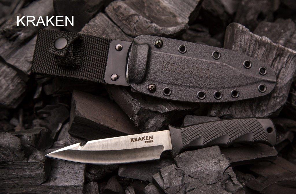 """Универсальный тактический нож """"Samura KRAKEN"""" 121 мм с ножнами Kydex, AUS-8"""