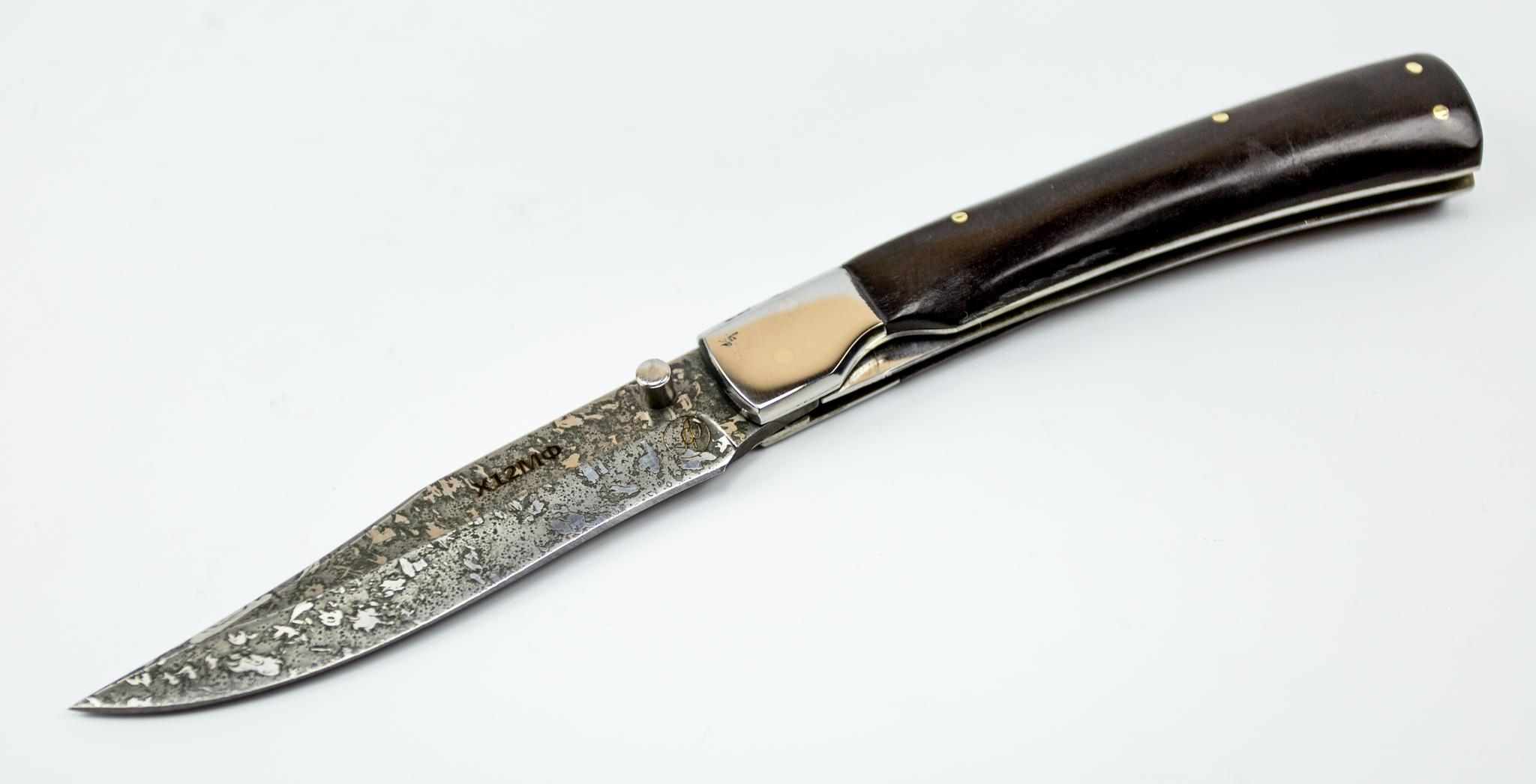 Фото 5 - Складной нож Рысь-1, Х12МФ