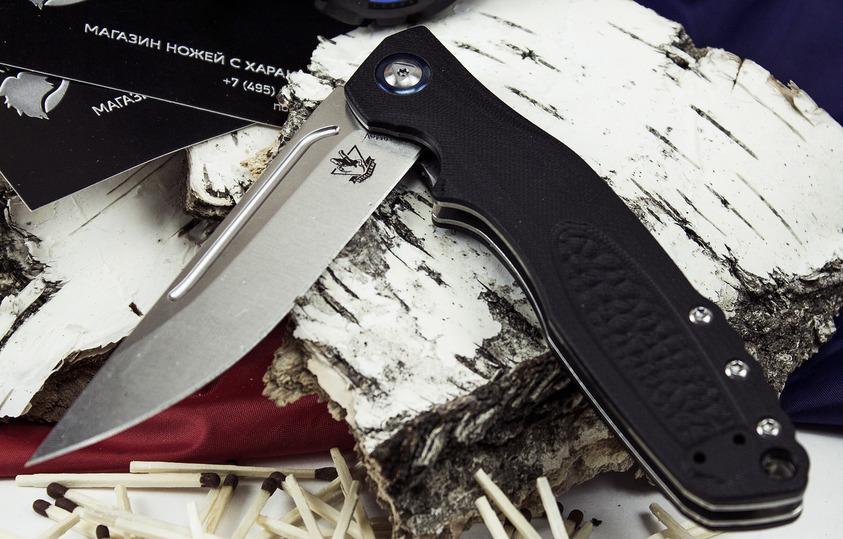 Фото 3 - Складной нож Джин, черный от Steelclaw