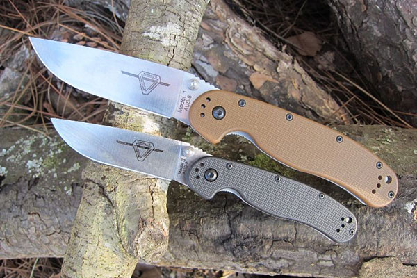 Складные ножи Ontario Rat