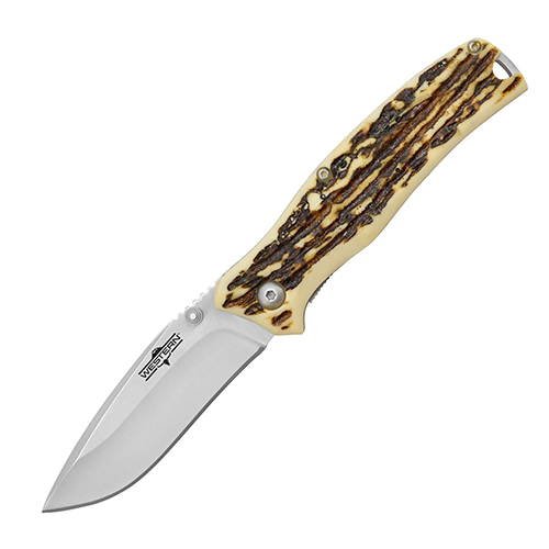 Нож складной Camillus Western Pronto, сталь 420 Stainless Steel, рукоять Delrin®
